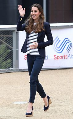 Kate Middleton, Three Months After Giving Birth at Sportaid Athlete Workshop