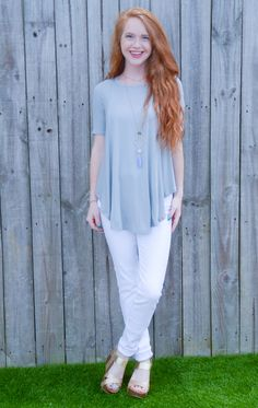 Paperdoll - Ribbed Asymmetrical Top, $26.95 (http://www.paperdollchick.com/ribbed-asymmetrical-top/)