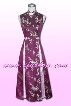 Chinese Evening Gowns EGH138 - Custom-made Cheongsam,Chinese clothes, Qipao, Chinese Dresses, chinese clothing,EFU Tailor Shop  $138 at efushop.com  maybe reception dress..