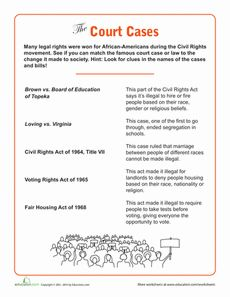 ... Pinterest | Civil rights, Civil rights movement and Reading worksheets