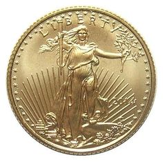GEM BU 2014 $5 Gold Eagle - Contains 3.11 Grams of Gold
