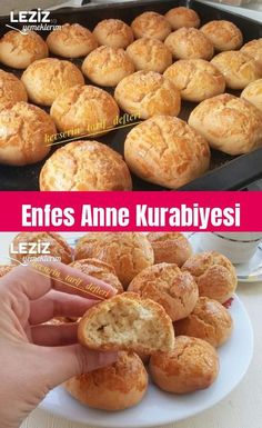 Enfes Anne Kurabiyesi Exquisite Mother Cookies The post Exquisite Mother Cookies appeared first on Pink Unicorn. Mothers Cookies, Chicken Skillet Recipes, Dried Cherries, Dark Chocolate Chips, How To Make Bread, Original Recipe, Cake Fillings, Casserole Recipes, Cookie Recipes