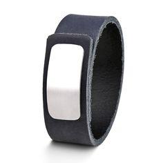 Wear Clint - Tuigleren armband (25mm / donkerblauw) met RVS-sluiting. Een stoer design voor mannen en vrouwen! Ready To Wear, Rvs, How To Wear, Design, Fashion, Wristlets, Moda, Fashion Styles, Capsule Wardrobe