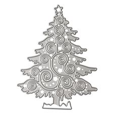 0daf4816be3 DIY Metal Scrapbook Cutting Dies Embossing Stencil and Template for Kids  Creative Arts Crafts Supplies Card · Silver Christmas ...