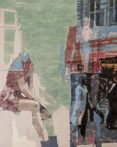 """Udveksling - Exchange from Denmark Exhibition 2011 30"""" x 24"""" oil and graphite on panel  Artwork: figurative painting"""