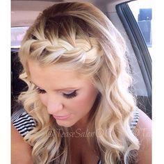 Deze ingevlochten haarbanden zijn echt te mooi gewoon! Deze moet jij echt eens proberen! - Kapsels voor haar