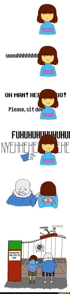 Sans and Frisk, Papyrus, Undyne and Alphys Undertale Undertale Love, Undertale Memes, Undertale Fanart, Undertale Comic, Sans Frisk, I Know That Feel, I Want To Know, Toby Fox, Underswap