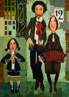 Otar Imerlishvili - Отар Имерлишвили Otar Imerlishvili is a georgian artist-restorer. Born in 197... Art Deco Artwork, Music Artwork, Art Music, Jazz Club, Georgie, Music Illustration, Art Brut, Unusual Art, Naive Art