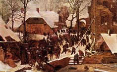 The Adoration of the Kings in the Snow - Pieter Bruegel the Elder