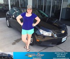 Congratulations to Hailee Cooke on your new car  purchase from Brandon Baum at Crossroads Chevrolet Cadillac! #NewCar