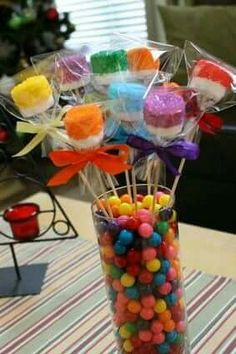 Candy Buffets and Chocolate Favors for all Occasions - Gift Baskets/Centerpieces Trolls Birthday Party, Troll Party, 1st Birthday Parties, Birthday Ideas, Candy Land Birthday Party Ideas, Candy Themed Party, 8th Birthday, Candy Land Theme, Candy Centerpieces