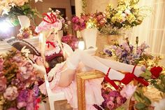 Touhou Cosplay, Anime Cosplay, Bridesmaid Dresses, Wedding Dresses, Cosplay Girls, Floral Wreath, Table Decorations, Sexy, Projects