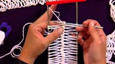 Learn to Make Hairpin Lace with Red Heart Yarns