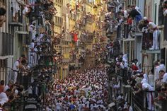 San Fermines 2013. Pamplona, Spain.
