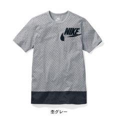 メンズ ドット柄Tシャツ