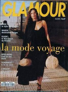 GLAMOUR France - March 1994 80s And 90s Fashion, Fashion Mag, Marrakech, Glamour France, William Klein, Craig Mcdean, Sari, Vintage Glamour, French Fashion