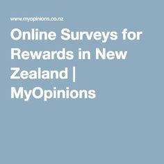 Online Surveys for Rewards in New Zealand   MyOpinions