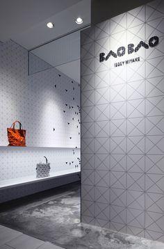 interactive interior facade at issey miyake shinjuku by moment design - designboom | architecture & design magazine Like this.
