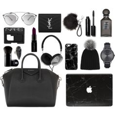 What's in my bag: minimalist&monochrome version