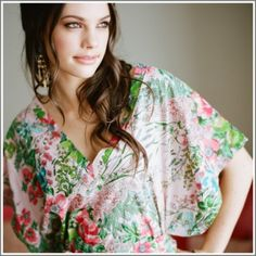 floral Tunic.