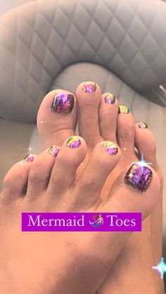 Fresh feet for the Fall with Mermaid 🧜🏼♀️ Flakes. #nailsreels #pedicure #happyfeet #toes #chromenails #polishedtoes #instanails #nailsokc #okcBest #okc #nails #getpolished #oknailtechs #nailspiration #polished #polishednailsok #getPamperedAtPolished #naillove #nailsoftheday #polishednailsalon #OkieHonorWinner #bestNailSalon #readerschoice #BestOfThe405 #bestOfTheCity #polishedToPerfection