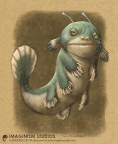 Image result for sea monster illustration