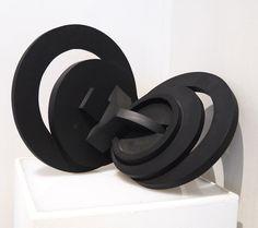 Christiane Lazard   Figure Eight, brass