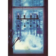 Scandinavian Christmas, Candlesticks, Finland, Wind Chimes, Windows, Studio, Outdoor Decor, Design, Home Decor