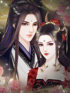cặp đôi cổ trang beauty trends by decade - Beauty Trends 2019 Anime Love Couple, Couple Art, Chinese Drawings, Beautiful Fantasy Art, Estilo Anime, China Art, Creative Pictures, Boy Art, Anime Art Girl