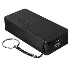 Black TAVLAR Portable 4USB LED 50000mAh Power Bank External Backup Battery Charger For Phone