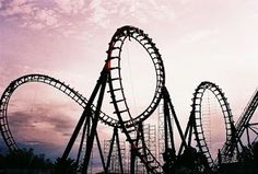"""into me, breathe: The Definition of Me Blog Post #26 """"Lately, my chronic illness has had me feeling like I'm on an insane roller coaster ride, complete with all the high-speed racing, hair-raising turns, and scream-inducing plunges. All those things that make adrenaline junkies feel alive, but just make my stomach turn anxiously. I hate roller coasters. """""""