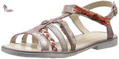 Catimini Chouette, Sandales fille - Rose (47 Crt Rose/Or Dpf/2644), 26 EU - Chaussures catimini (*Partner-Link)