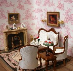 Perfect Vintage Barbie Dollhouse Miniature Furniture LAUNDRY CLOTHES PRESS U0026 CHAIRS  3 Pc