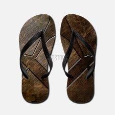 Masonic Square And Compass Flip Flops for