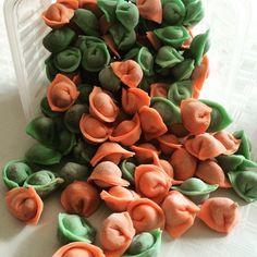 Наши цветные пельмешки для деток by maminy_pelmeni