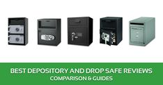 Best Depository and Drop Safe Reviews, Comparison & Buyer's Guide