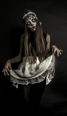 horror halloween kostüme schrecklich puppe zombie