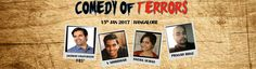 Comedy of Terrors At Rangasthala Auditorium - http://explo.in/2hJueHP #Bangalore