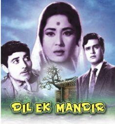 Watch Dil Ek Mandir Movie. Star Casting : Rajender Kumar, Raj Kumar & Meena Kumari.