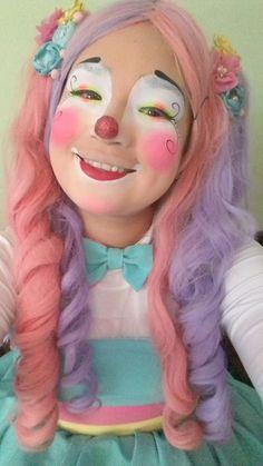 Cute Clown, Girls Makeup, Clowns, Clown Makeup, Imperial Crown