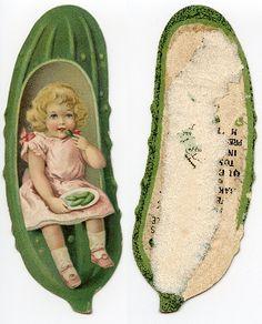 Heinz Pickle Bookmark - 1900-1910