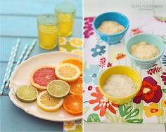 summer color  | #mosaicmontagemonday #montage #collage #pink #orange #green #yellow #blue