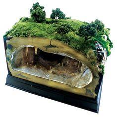Image result for underground diorama