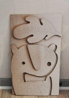 Steen drabik -cardboard art