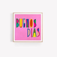 Spanish Glicée Prints - Riso Prints - Wall Lights – And so to Shop Saturated Color, White Paper, Tapestries, All Print, Kids Bedroom, Wall Tapestry, Spanish, Wall Lights, Vibrant