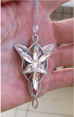 Arwen's Evenstar - $26 on Etsy. Pretty! I have a very cheapy cheap copy I bought many years ago. I'd love to get a nice one sometime though.