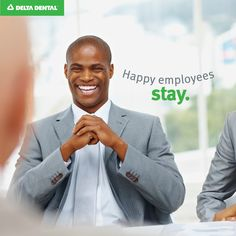 Happy employees stay. #DeltaDental