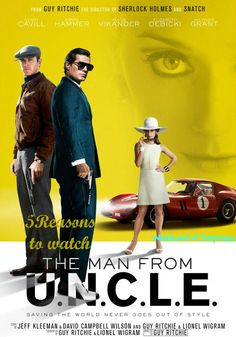 Whirlwind of Surprises: 5 Reasons to watch #ManFromUNCLE #movies #entertainment #ad #review
