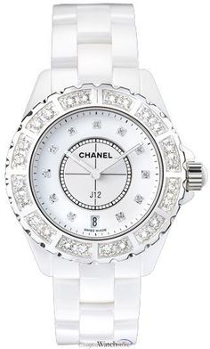 Discover a large selection of Chanel watches on - the worldwide marketplace for luxury watches. Compare all Chanel watches ✓ Buy safely & securely ✓ Bling Bling, Chanel Watch, Chanel Jewelry, Jewellery, Chanel Bracelet, Ceramic Jewelry, Luxury Watches, Stylish Watches, Tory Burch