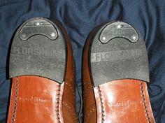 ijzertjes onder je hakken, hoefde je niet zo vaak naar de schoenmaker......